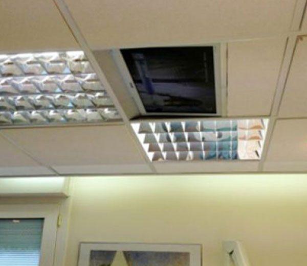 tele-plafond